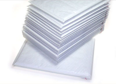 100 Quality New White Padded Bubble Lined Wrap Envelopes Bags 275mm x 355 mm
