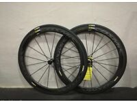 Mavic Cosmic Pro Carbon Exalith 2018 wheelset For use with Shimano 10/11 speed