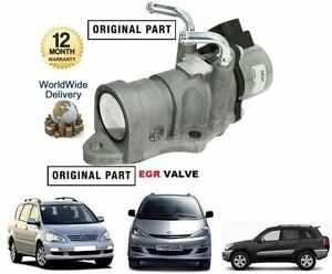 for toyota avensis verso rav4 previa 2 0 diesel d4d egr valve sensor 25620 27080 ebay. Black Bedroom Furniture Sets. Home Design Ideas
