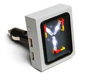 Flux Capacitor USB Car Charger Back to The Future NEW FUN! FREE SHIPPING BTTF