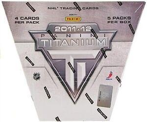 2011-12 Panini Titanium Hockey Trading Cards Hobby Box Kitchener / Waterloo Kitchener Area image 1