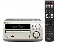 DENON RCD-M40DAB - BRAND NEW AND SEALED - SILVER FINISH