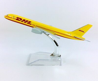Dhl Express Boeing 757 Commerce Airplane Plane Metal Diecast Model Collection