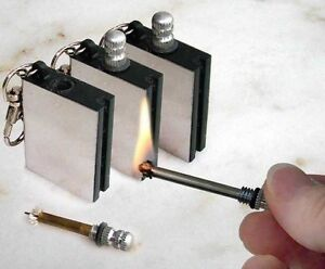 MATCH-BOX-LIGHTER-NOVELTY-GADGET-BOYS-MEN-TOY-STICK-STRIKE-FLINT-METAL-PETROL
