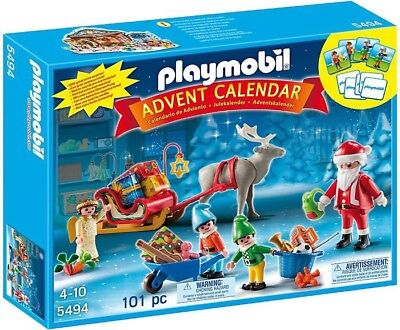 Playmobil Advent Calendar Santa's Workshop Set #5494