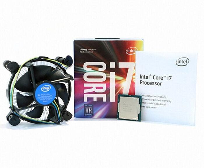 Intel I7-7700 3.6ghz 7th Gen Quad Core Socket 1151 CPU Processor SR338