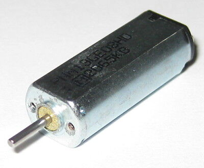 Minebea Mini 3v Dc 8900 Rpm Dc Electric Motor - 1.0 To 4.5 Vdc - 12500 Rpm Nl