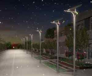 High Quality large area Solar Lighting