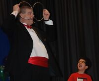 BIRTHDAY PARTY MAGIC SHOW, by Victoria Magician Donald Dunphy