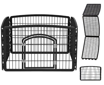 IRIS Large Indoor Outdoor Dog Pet Playpen Exercise Pen Play Yard Cage Fence