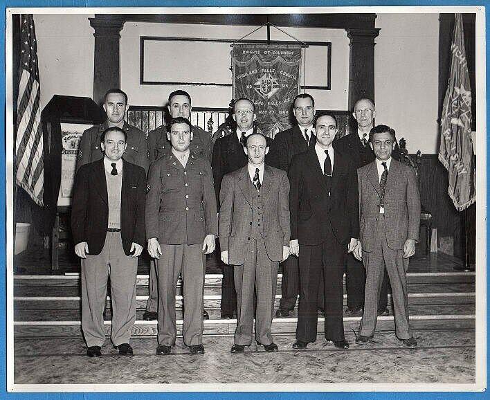 1940s Knights of Columbus 515 Highland Falls New York Original Photo