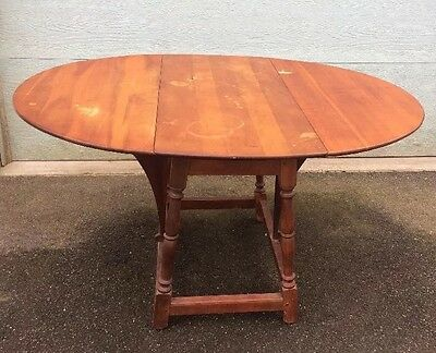 Drop Leaf butterfly table 1900's Flints Fine Furniture N.Y. DELIVERY AVAILABLE (Pearl Butterfly Table)