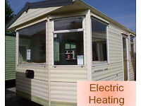 Static Caravan Pre-Owned 36 x 12 ft / 2 Bedrooms, Electric Heating, Carnaby Dovedale