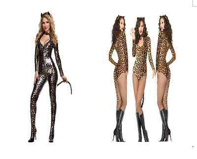Halloween Fancy Dress women lovely sexy rabbit cat cosplay costume  SIZE 6-10 UK (Womens Halloween Cat Costumes Uk)