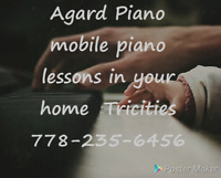 Piano lessons $15