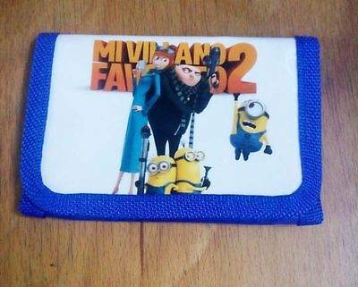 NEW Minions Despicable Me Money Pouch Bag Purse Wallet Ideal Present