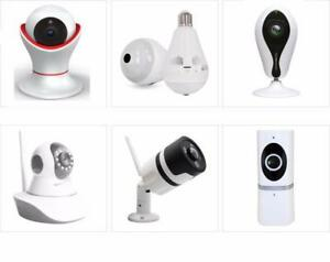 Wireless 360° VR Security camera on sale, Indoor or outdoor, easy installation,  2 million pixels, Night vision
