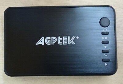 AGPTek 1080p HDMI Media Player, Black, 2 Pin Plug, BNIB, BD, Visual, Stream (C1)