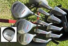 Excellent graphite set!  14 clubs (2 Drivers), bag & buggy Shoalwater Rockingham Area Preview