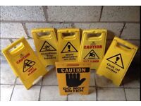 Wet floor safety caution freestanding A frame signs