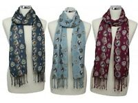 Your choice of two horse print lovely peony scarves
