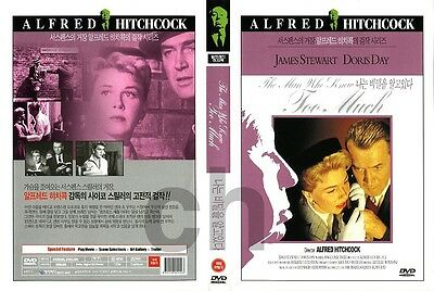 The Man Who Knew Too Much (1956) - Alfred Hitchcock  DVD NEW