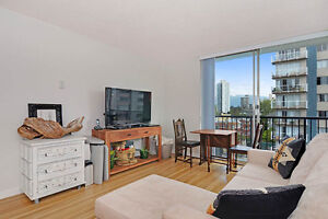 Bachelor Apartment Downtown! SW Near C-Train! With Den & Gym!