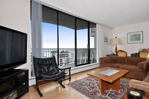 19th Floor 2BD with Epic Water View! By Lonsdale in North Van!