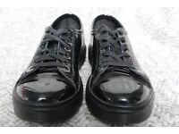 Short Black Dr. Martens Shoes (Size 5)