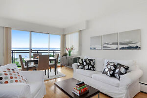 New Water-View 1 Bedroom Apartment for Rent in West Vancouver!