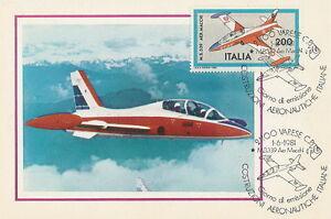 Italy postcard maximum Aviation M.B. 339 AER MACCHI airplane - Bystra Slaska, Polska - Italy postcard maximum Aviation M.B. 339 AER MACCHI airplane - Bystra Slaska, Polska