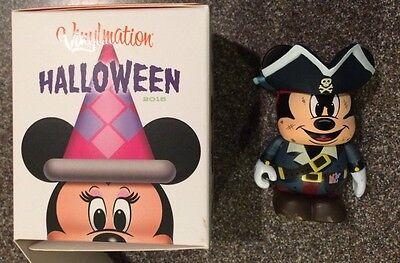 Disney 2015 Halloween Vinylmation Mickey Mouse as Pirate LE 2250 (Halloween Vinylmation)