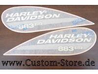 Harley original Aufkleber Decal  Sticker German Sportster Cup 883R