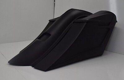 """6"""" stretched saddlebags rear fender for harley davidson touring 2009-2013 bagger"""