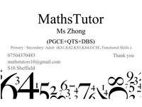 Maths Tutor (SAT, GCSE, A-level)