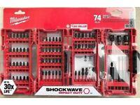 Milwaukee 48-32-4062 74-Piece Heavy-Duty Shockwave Impact Driver Bit Set 2021
