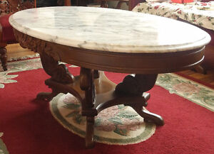 Antique marble table for sale (moving sale)