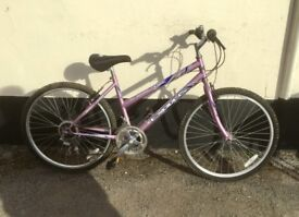 "LADIES EXODUS MOUNTAIN BIKE 18"" FRAME £45"