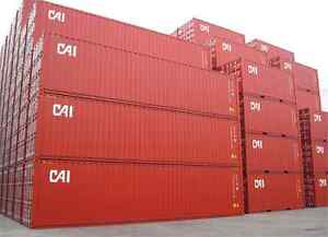 Shipping and Storage Sea Containers 20ft, 40ft, 40ft HC Peterborough Peterborough Area image 1