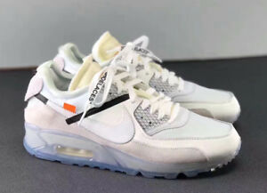 "Nike x Off White ""The Ten"" Air Max 90 DS size 9"