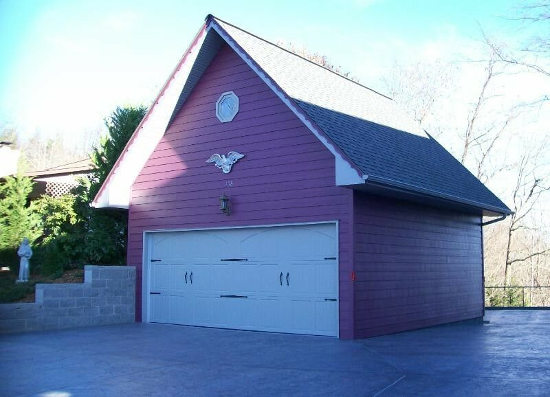 20x20 garage w loft plans package blueprints material for Garage packages with loft