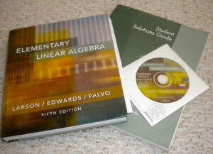 Elementary Linear Algebra Fifth Edition Kitchener / Waterloo Kitchener Area image 1