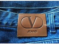 Brand New Vintage Authentic Valentino Jeans Size 38 ~Blue ✨¼ Price Reduced✨