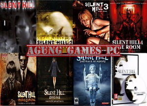 ISO All Silent Hill Games
