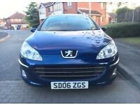 2006 Peugeout 407 SW HDI 1.6 Estate ***READ ADD***