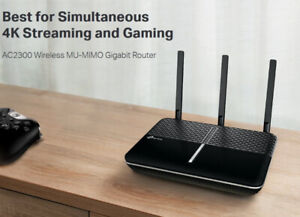TP-Link AC2300 Wireless WiFi Router Powerful 1.8GHz Dual-Core 6