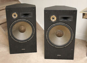 Optimus GX-1600 3-way Speakers w/15 inch woofers
