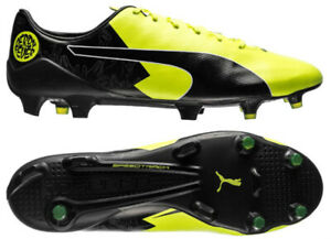 Puma Evospeed SL-S FG Yellow Mens US 11 Soccer Shoes BVB Reus