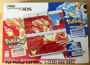 NEW Nintendo 3DS Pokemon 20th Anniversary Red & Blue Edition