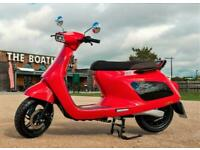 Rena 2000w Electric Scooter 72v 38ah Panasonic Lithium Battery 30mph NEW